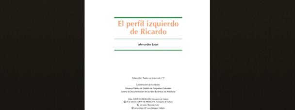 «El Perfil Izquierdo de Ricardo» – Junta de Andalucía